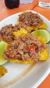 Tarticos de Plátano y Cangrejo