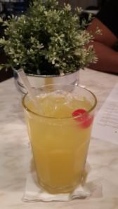 Midtown diner orange juice